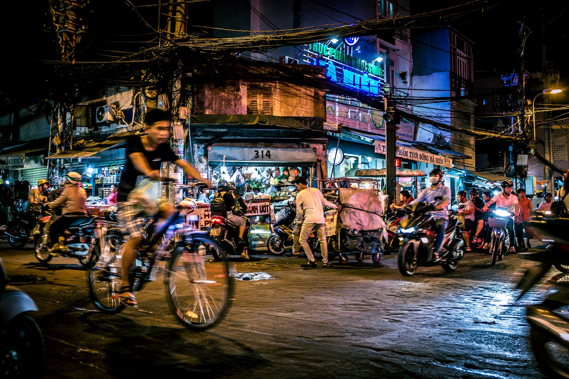 Around the Corner, Saigon, quartier populaire de Binh Thanh